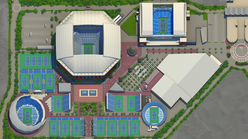 Us Open Tennis Location Map On Site | Visit the US Open   Official Site of the 2020 US Open
