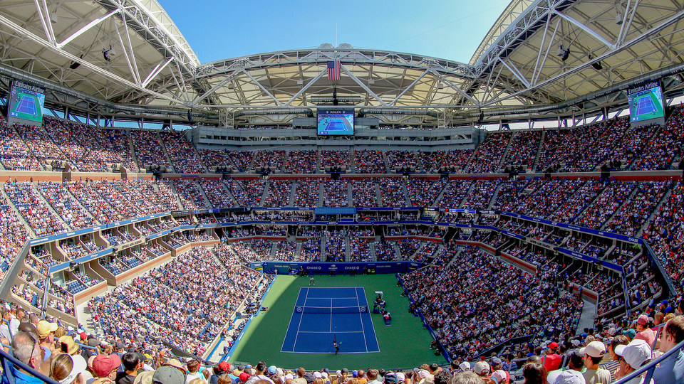 Us Open Tennis Courts Map US Open Stadium Seat Maps   Official Site of the 2020 US Open