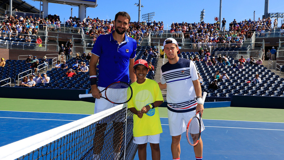 Schwartzman Upends Cilic Continues Run Of Upsets Official Site Of The 2020 Us Open Tennis Championships A Usta Event