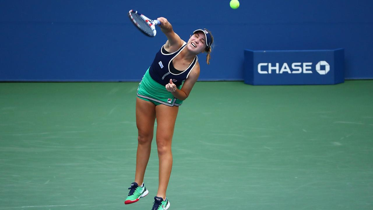 Sofia Kenin Keeps On Rolling At 2020 Us Open Official Site Of The 2020 Us Open Tennis Championships A Usta Event