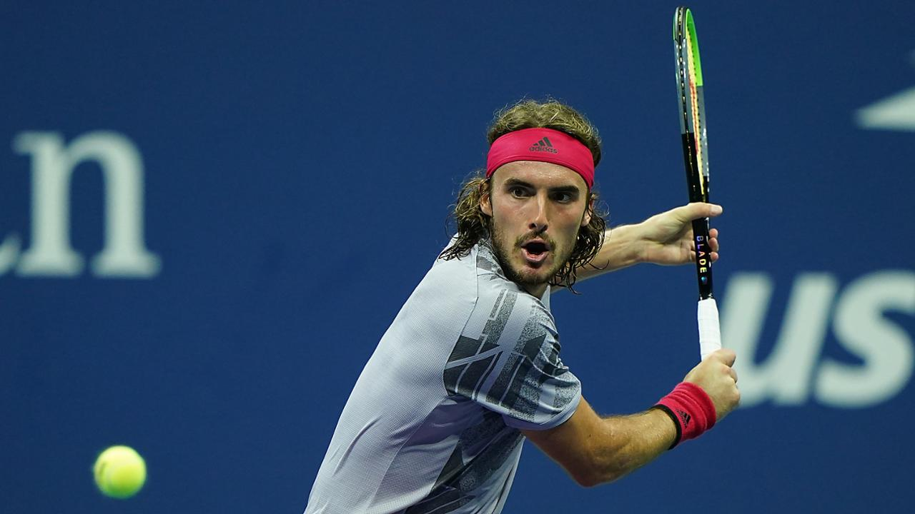Stefanos Tsitsipas Stands Tall In Arthur Ashe Stadium Debut Official Site Of The 2020 Us Open Tennis Championships A Usta Event