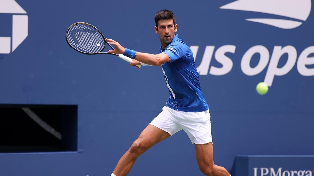 Top Seed Novak Djokovic Rolls Past Kyle Edmund On Day 3 Of 2020 Us Open Official Site Of The 2020 Us Open Tennis Championships A Usta Event
