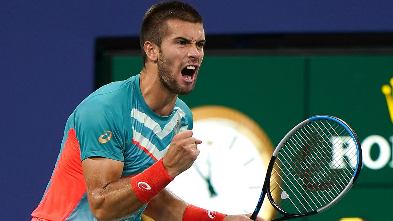 Borna Coric Topples Tsitsipas In Us Open Five Set Thriller Official Site Of The 2020 Us Open Tennis Championships A Usta Event