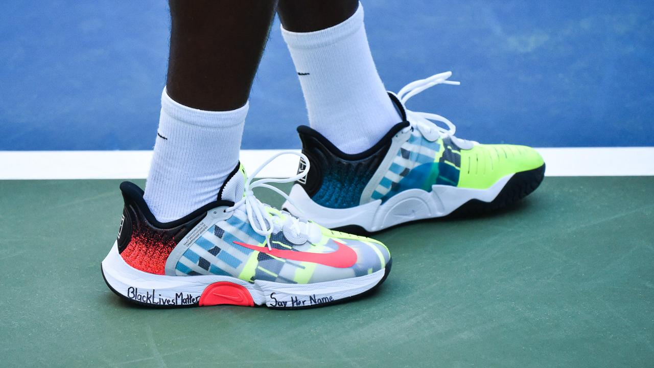 Photos Players Flex Their Sneaker Game Official Site Of The 2020 Us Open Tennis Championships A Usta Event
