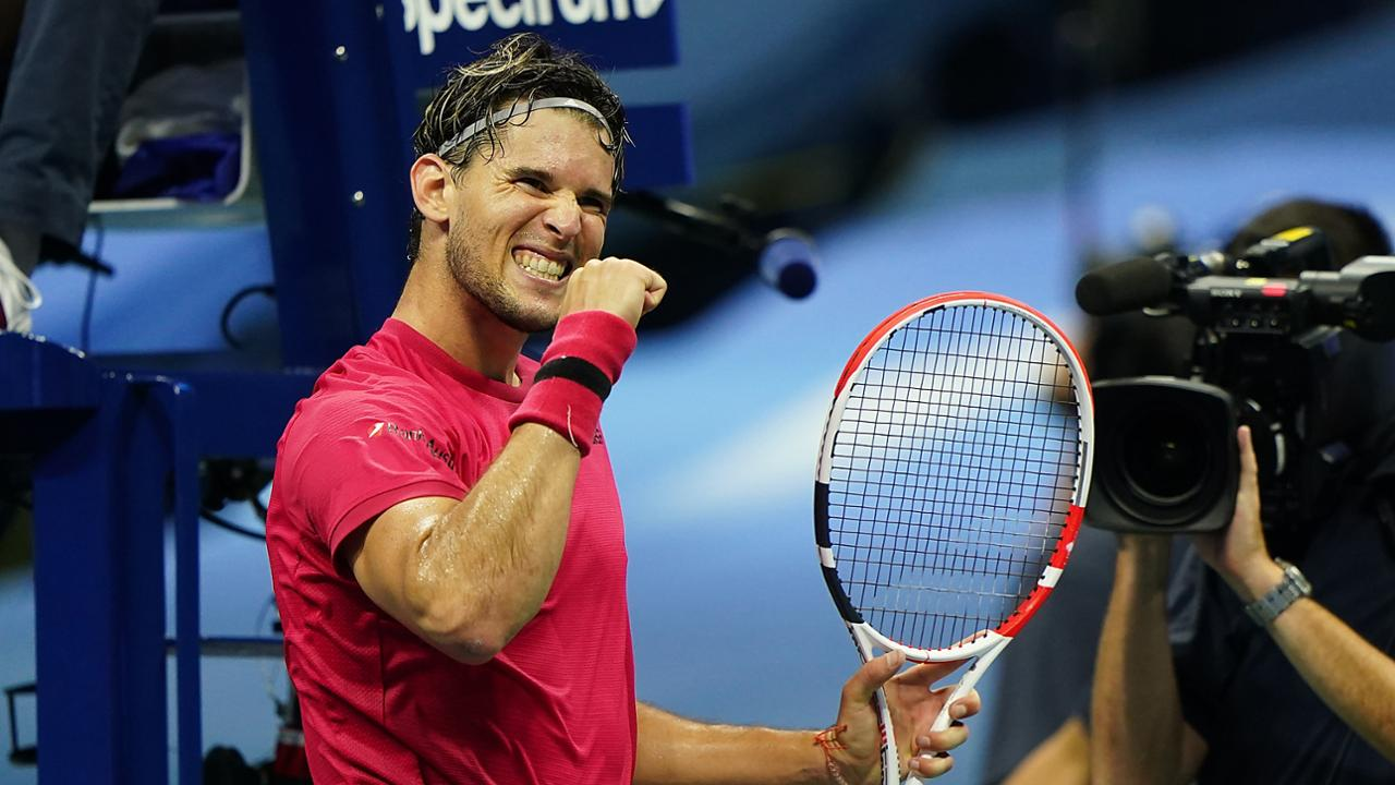 Dominic Thiem Breaks Through To First Us Open Semifinal Official Site Of The 2020 Us Open Tennis Championships A Usta Event