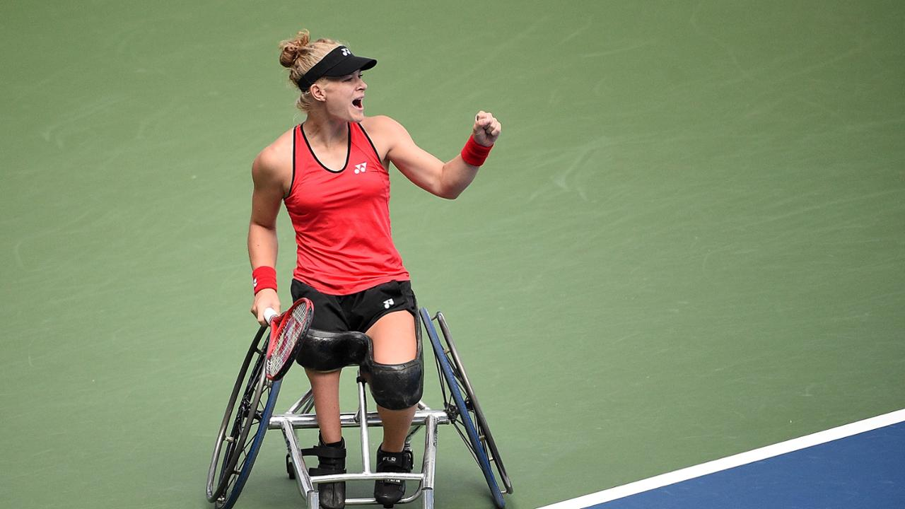 History on the line at 2021 US Open Wheelchair Competition ...