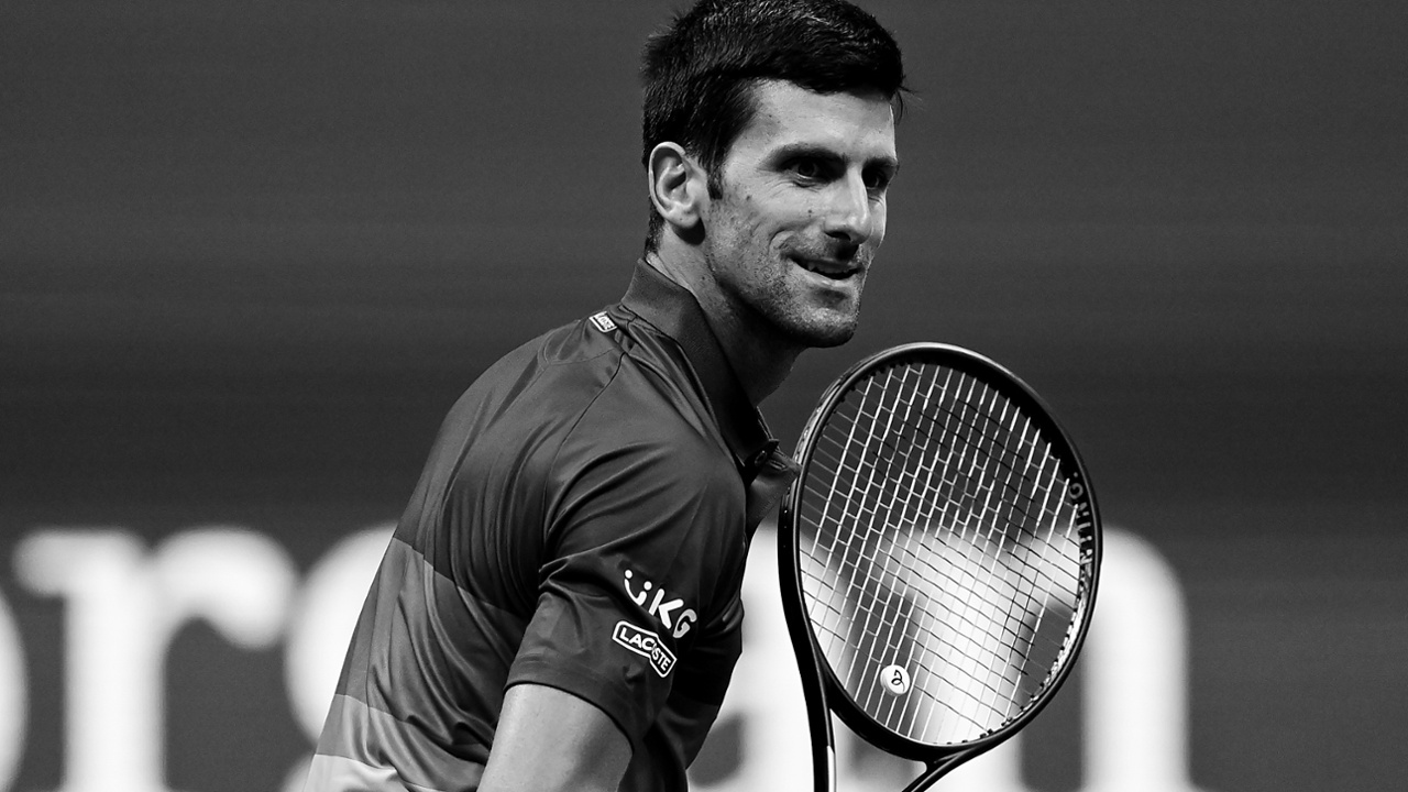 Novak Djokovic is in another universe