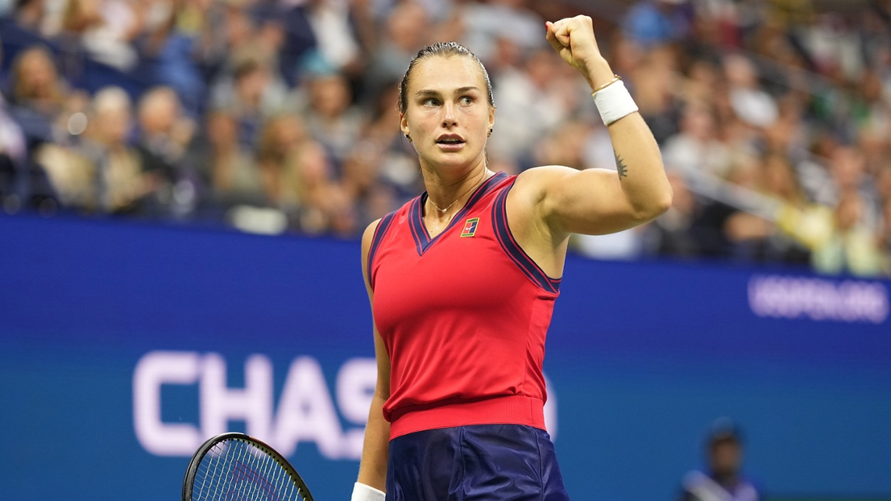 Aryna Sabalenka comes so close again, yet . . . - Official Site of the 2021  US Open Tennis Championships - A USTA Event