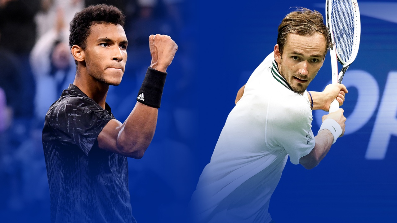 Key Matches: Felix Auger-Aliassime vs. Daniil Medvedev - Official Site of  the 2021 US Open Tennis Championships - A USTA Event