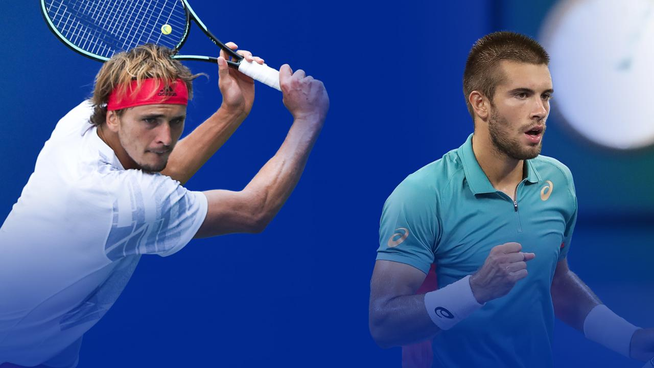 Key Matches Alexander Zverev Vs Borna Coric Official Site Of The 2020 Us Open Tennis Championships A Usta Event