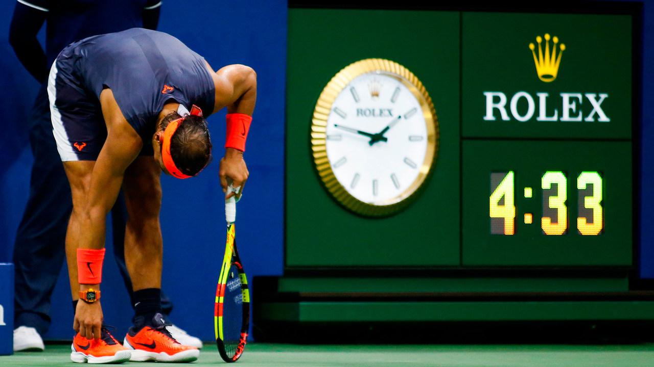 Photos Rafael Nadal Vs Dominic Thiem 2018 Us Open Men S Singles Quarterfinals Official Site Of The 2020 Us Open Tennis Championships A Usta Event