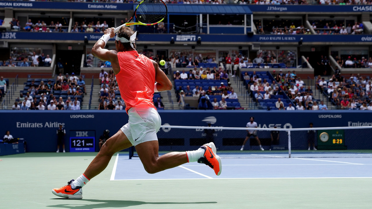Why Nadal Thiem Stand So Far Back To Return At The Us Open Official Site Of The 2020 Us Open Tennis Championships A Usta Event