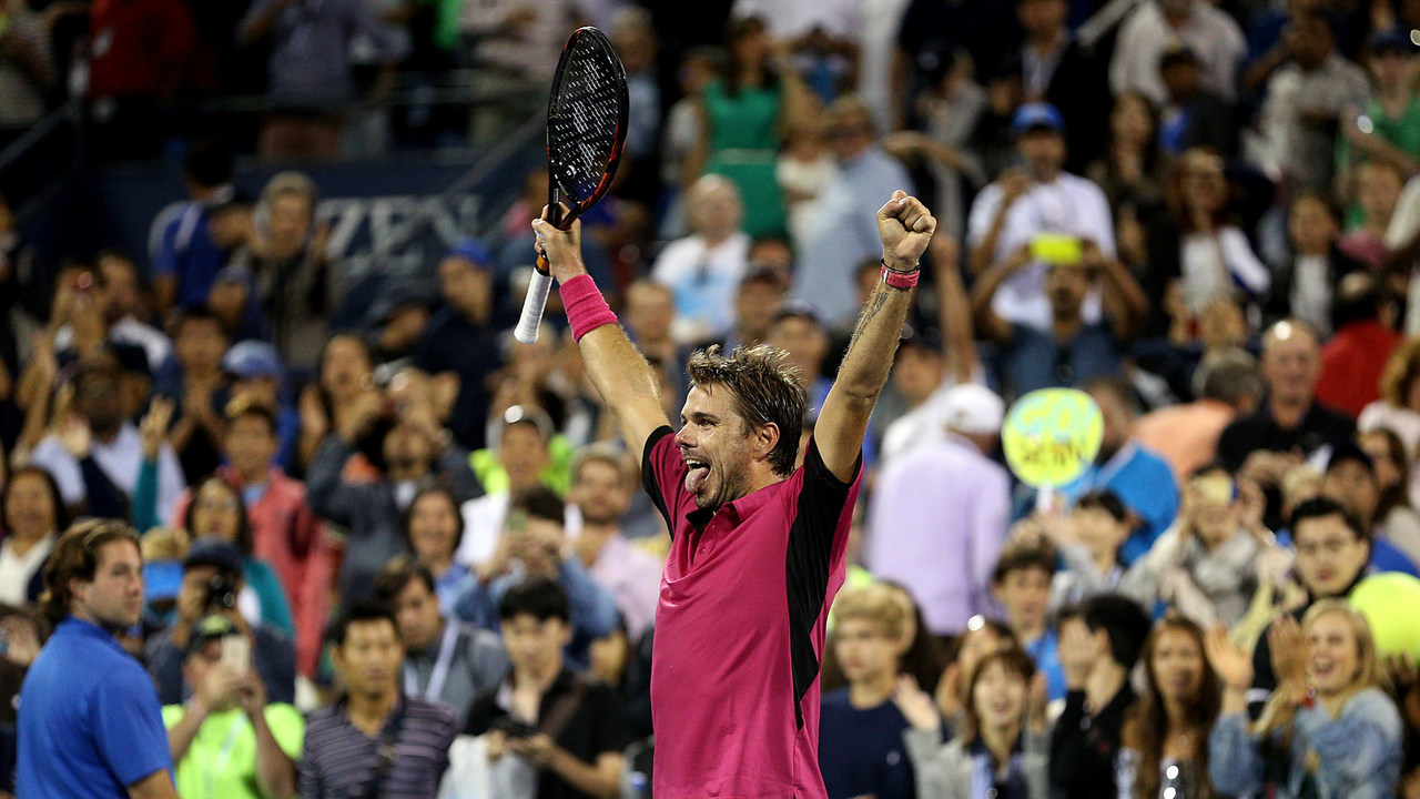 Turning Points: Stan Wawrinka saved match point in 2016 third round against  Dan Evans | Official Site of the 2020 US Open Tennis Championships - A USTA  Event