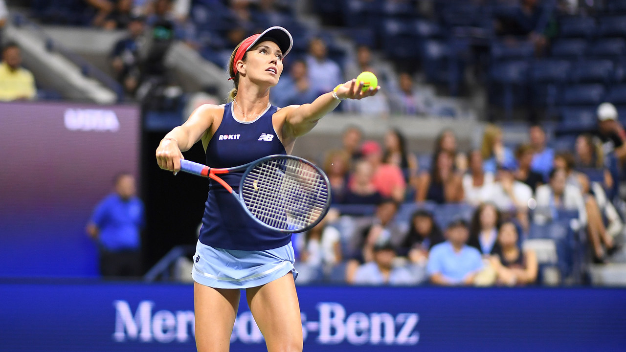 Us Open Interview Danielle Collins Official Site Of The 2021 Us Open Tennis Championships A Usta Event