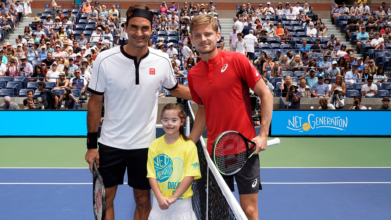 David Goffin Compares Playing Roger Federer Novak Djokovic Rafael Nadal Official Site Of The 2020 Us Open Tennis Championships A Usta Event