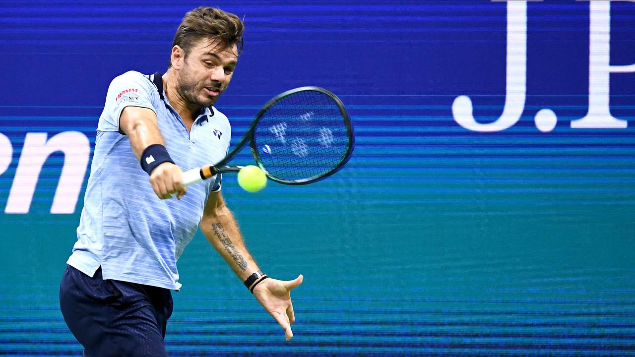 Stan Wawrinka into quarterfinals after Novak Djokovic ...