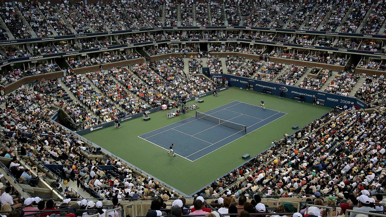50 Moments That Mattered Us Open Blue Courts Make Their Debut Official Site Of The 2021 Us Open Tennis Championships A Usta Event