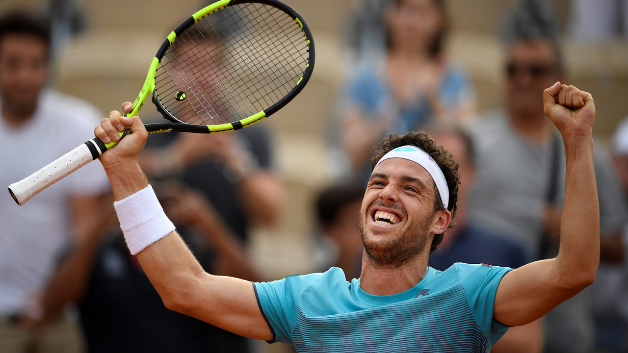 2018 US Open Spotlight: Marco Cecchinato - Official Site of the 2020 US  Open Tennis Championships - A USTA Event